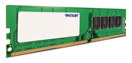 Оперативная память 4Gb PC4-19200 2400MHz DDR4 DIMM Patriot PSD44G240082