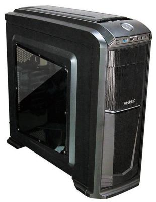 Корпус ATX ANTEC GX330 Window BLK High Без БП чёрный 0-761345-01140-2