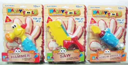 Инструмент Shantou Gepai Handy Tools 10021 в ассортименте игрушечные инструменты shantou gepai набор инструментов маленький мастер