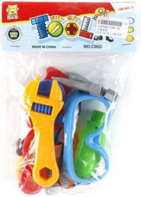 Набор инструментов Shantou Gepai C002-10 игрушечные инструменты shantou gepai набор инструментов маленький мастер