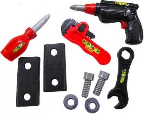 Набор инструментов Shantou Gepai 638-5B 10 предметов в ассортименте игрушечные инструменты shantou gepai набор инструментов маленький мастер