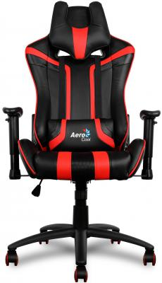 Купить со скидкой Кресло компьютерное игровое Aerocool AC120-BR черно-красный 4710700959657