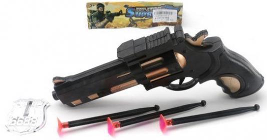 Игровой набор Shantou Gepai Полицейский 5 предметов 102-2 игровой набор gonher ковбойский набор револьвер пластмассовый на 8 пистонов звезда шерифа 204 0