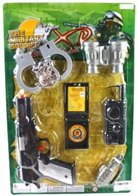 Игровой набор Shantou Gepai Полицейский 6 предметов 123-6
