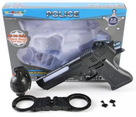 """Игровой набор Shantou Gepai """"Полицейский"""" 5 предметов свет, звук WEX-C3D"""