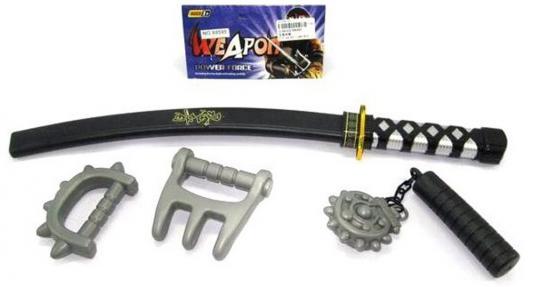 Оружие Shantou Gepai Ниндзя черный серый  88595