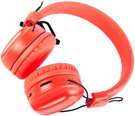 Игровая гарнитура беспроводная Marvo HB-013 красный