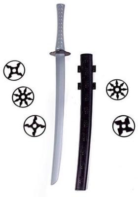 Оружие Свсд Оружие ниндзя - Крадущийся воин 2 черный серый 5261 игрушечное оружие свсд набор дружинник