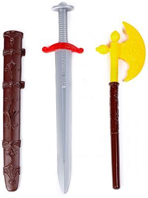 Оружие Свсд Ратник 2 серый коричневый желтый 5256 игрушечное оружие свсд набор дружинник