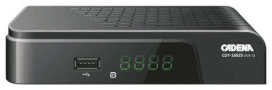 Тюнер цифровой DVB-T2 Cadena CDT-1652S