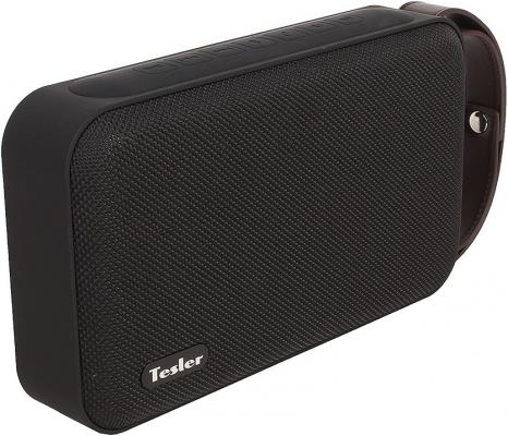 Портативная акустикаTesler PSS-880 черный морозильник tesler rf 90 белый