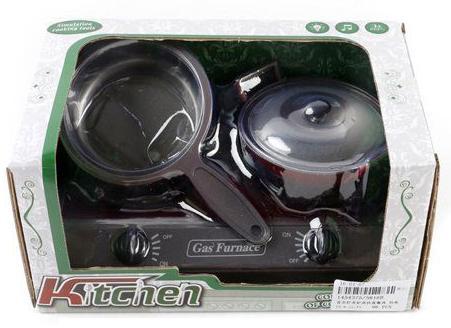 Набор Shantou Gepai Плита с посудой со звуком и светом 5816B плита shantou gepai с набором аксессуаров со звуком и светом 3533a