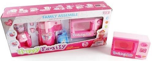 Набор бытовой техники Shantou Gepai Счастливая семья 8321