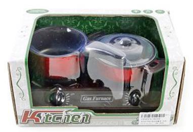Набор Shantou Gepai Плита с посудой со звуком и светом 5816A плита shantou gepai с набором аксессуаров со звуком и светом 3533a