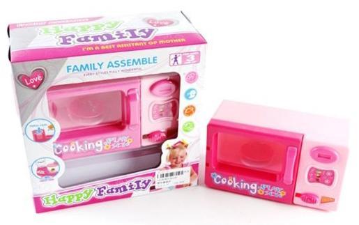 Микроволновая печь Shantou Gepai Happy Family 8129 shantou gepai игрушка пластм печь микроволновая с набором продуктов shantou gepai