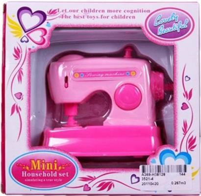 Купить Швейная машинка Shantou Gepai Mini Household со звуком 3521-4, розовый, Детская бытовая техника