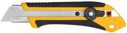 Нож Olfa с выдвижным лезвием двухкомпонентный корпус трещоточный фиксатор 25мм OL-XH-1 набор трубчатых свечных ключей fit 63736