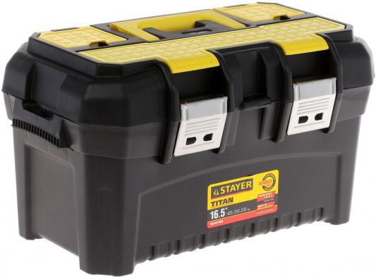 Ящик для инструмента Stayer Master 16 пластиковый 38016-16 рулетка stayer master 2мx16мм 34014 02 16