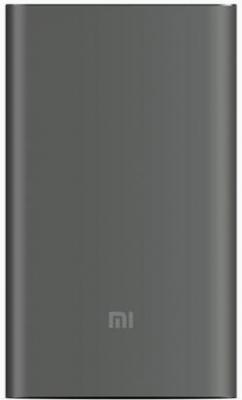 Портативное зарядное устройство Xiaomi Mi Power Bank Pro 10000mAh серый [PLM01ZM/PLM03ZM] зарядное устройство 16000mah xiaomi xiaomi m2 m2s m3 m4 mi power bank