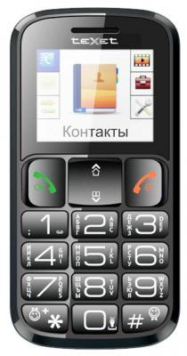 """Мобильный телефон Texet TM-B114 черный 1.77"""""""