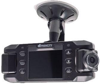 Видеорегистратор ParkCity DVR HD 495 2.3 1280x480 угол обзора 140° microSD microSDHC parkcity dvr hd 495 black видеорегистратор