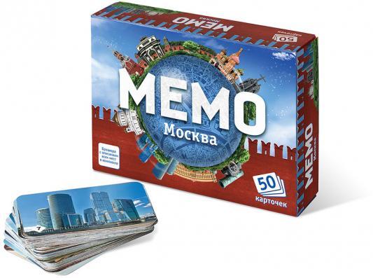 Настольная игра развивающая Бэмби «Мемо» Москва  7205 настольные игры бэмби мемо достопримечательности россии 7202