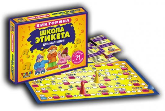 Настольная игра TOPGAME ходилка Школа этикета 1025