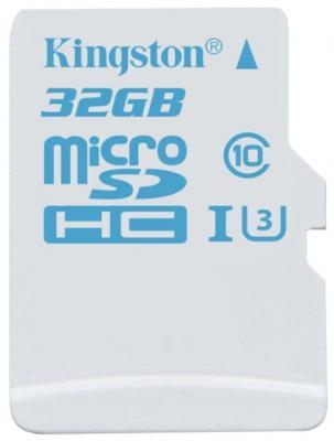 Карта памяти Micro SDHC 32GB Class 10 Kingston SDCAС/32GB + адаптер SD