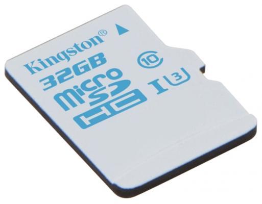 Карта памяти Micro SDHC 32GB Class 10 Kingston SDCAС/32GB + адаптер SD от 123.ru