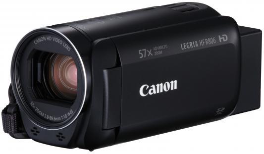 цена на Цифровая видеокамера Canon Legria HF R806 черный