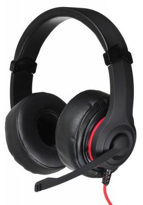 Гарнитура Oklick HS-L330G черный