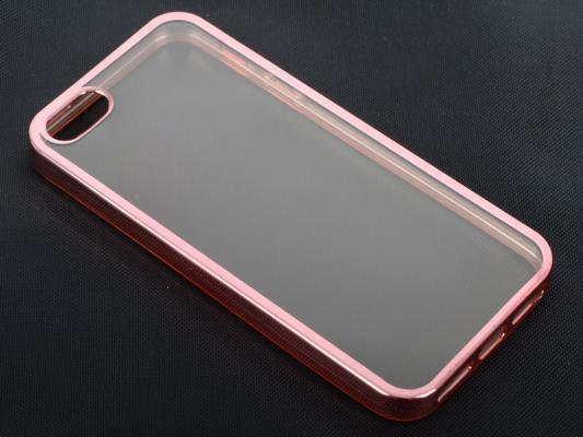 Силиконовый чехол с рамкой для iPhone 5/5S/SE DF iCase-01