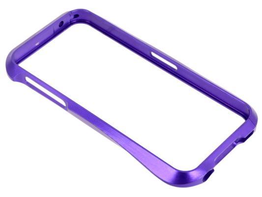 "Бампер для iPhone 5/5S ""CLEAVE"" металл/раздвижной (фиолетовый) CD125956"