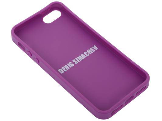 "Защитная крышка LP для iPhone 5/5S ""DENIS SIMACHEV"" цветы зеленые"