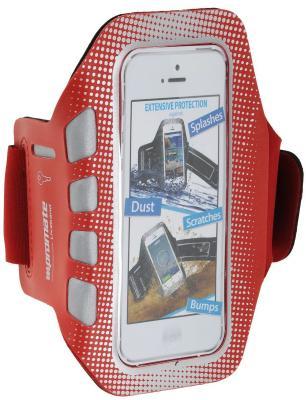 Спортивный чехол Promate liveBand для iPhone 5 iPhone 5S красный