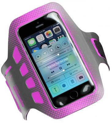 Чехол Promate liveBand 00007848 для iPhone 5 iPhone 5S серый
