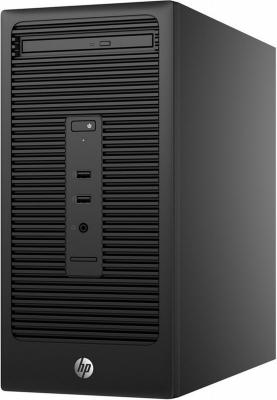 Системный блок HP 280 G2 MT i5-6500 3.2GHz 4Gb 500Gb HD 530 DVD-RW Win10Pro клавиатура мышь черный V7Q84EA