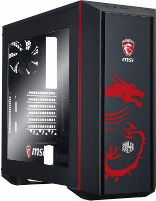 Корпус ATX Cooler Master MasterBox 5 MSI Edition Без БП чёрный MCX-B5S2-KWNN-03-MI корпус atx cooler master masterbox 5 без бп чёрный mcx b5s1 kwnn 11
