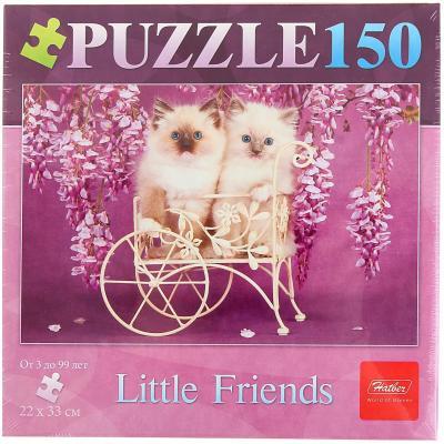 Пазл Hatber Два котенка 150 элементов 150ПЗ4_08326 пазл hatber райский сад 340x460mm 500пз2 16969