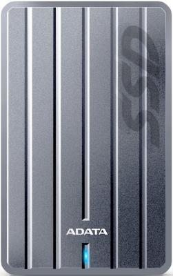 """Внешний жесткий диск 2.5"""" USB3.1 256 Gb A-Data SC660H ASC660H-256GU3-CTI серебристый"""