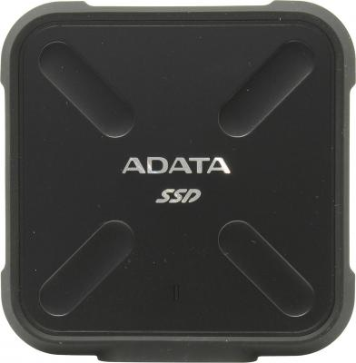 Внешний жесткий диск SSD USB3.0 512 Gb A-Data SD700 ASD700-512GU3-CBK черный