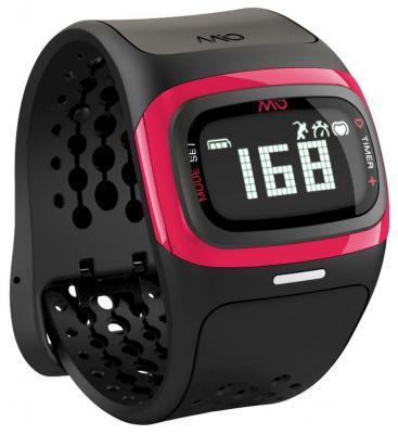 Смарт-часы Mio Alpha 2 Pink Small-Medium черный/розовый 58P-PNK фитнес трекер mio fuse cobalt small medium цвет черный синий