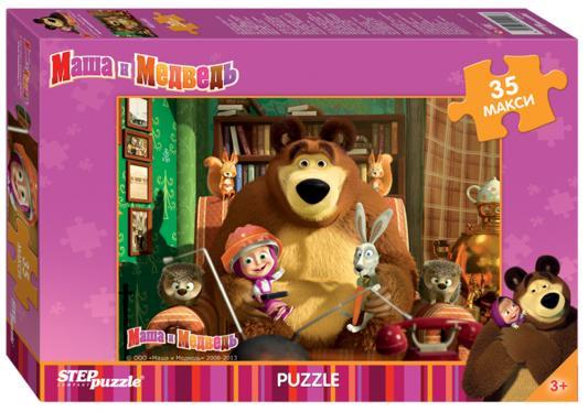 Пазл Step Puzzle Маша и Медведь 35 элементов пазл step puzzle томас и его друзья 160 элементов 94058