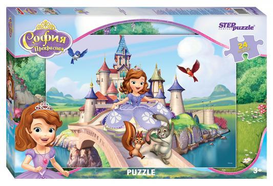 Пазл 24 элемента Step Puzzle София Прекрасная 90025 пазл step puzzle томас и его друзья 160 элементов 94058