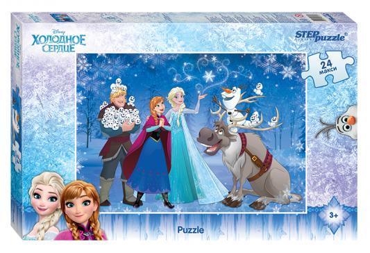 Пазл 24 элемента Step Puzzle Холодное сердце  90017 пазлы crystal puzzle головоломка лев