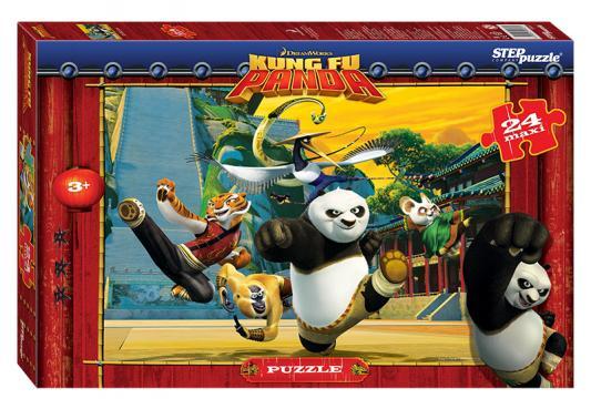 Пазл 24 элемента Step Puzzle Кунг-фу Панда  90027 кристальный пазл 3d crystal puzzle панда