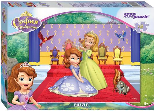 Пазл Step Puzzle Принцесса София 160 элементов 94044 пазл 3d 60 элементов step puzzle disney винни пух 98108