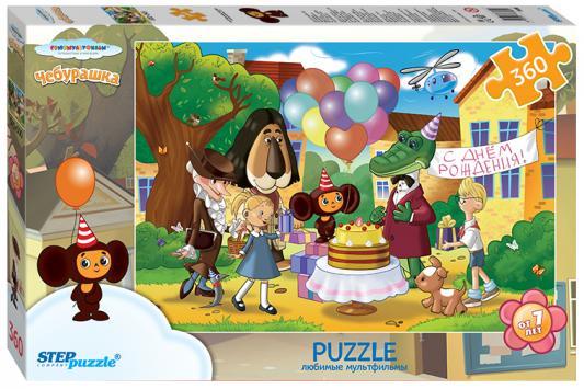 Пазл 360 элементов Step Puzzle Чебурашка 73069 пазл step puzzle развивающие паззлы союзмультфильм путешествие в мир добра в асс 76064