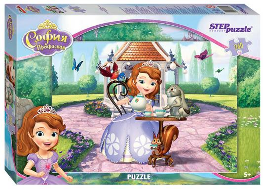 Пазл Step Puzzle Принцесса София 260 элементов 95041 пазл step puzzle принцесса софия disney 104 элементов