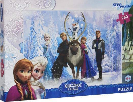 Пазл Step Puzzle Холодное сердце 260 элементов 95028 пазл step puzzle томас и его друзья 160 элементов 94058